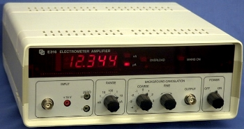 ELV-1 Electrometer Amplifier  (click to view the specifications)